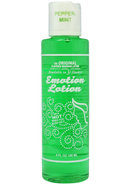 Emotion Lotion Flavored Water Based Warming Lotion...