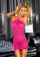 Vip Mini Dress - Pink Metallic