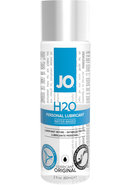 Jo H2o Water Based Personal Lubricant 2 Ounce