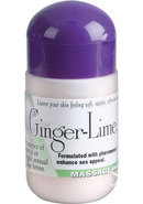 Pheromone Massage Lotion Ginger Lime 4...