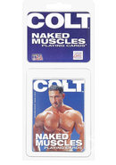 Colt Naked Muscles Playing Cards