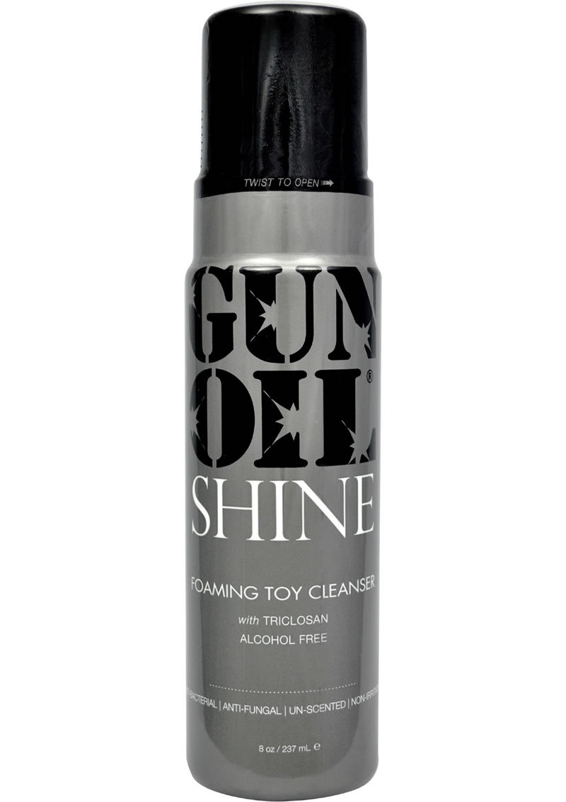 Gun Oil Shine Foaming Toy Cleanser 8 Ounce
