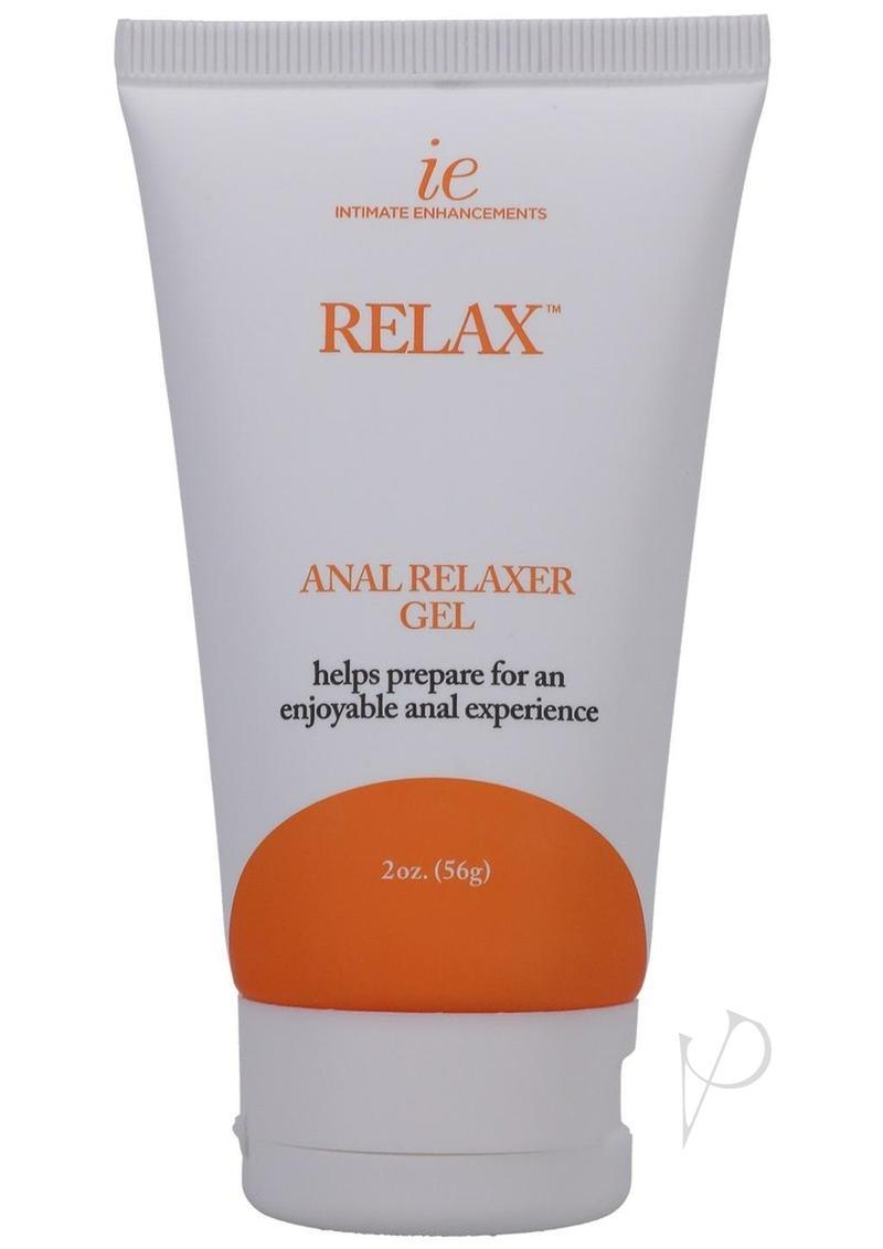 Relax Anal Relaxer For Everyone Waterbased Lubricant 2 Ounce Bulk